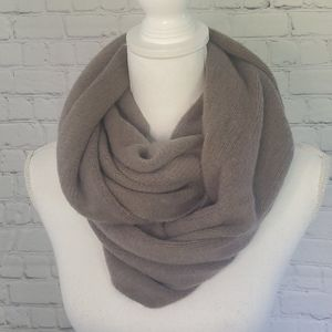 H&M Soft Taupe Infinity Scarf